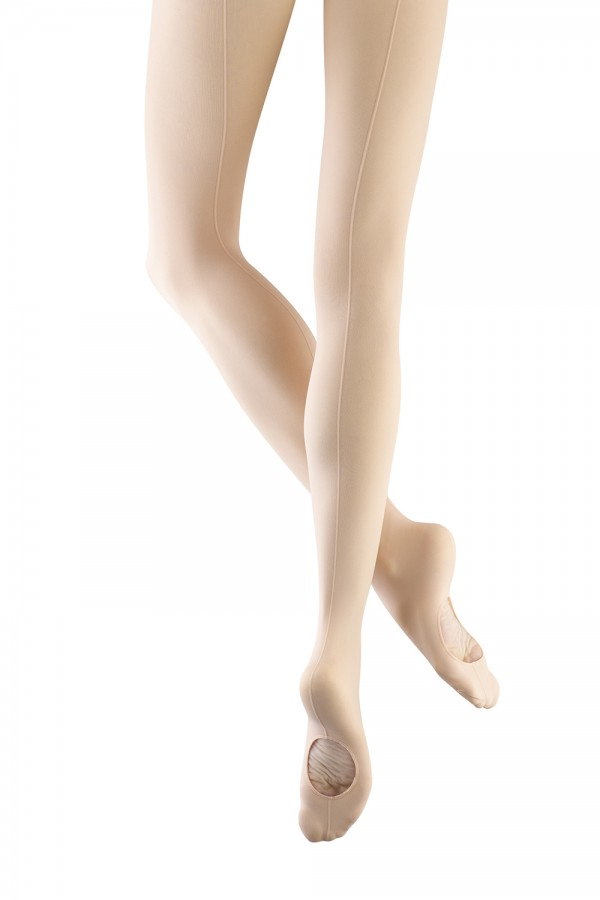 image - Ladies Endura Seamed Adaptatoe Tight Women's Dance Tights
