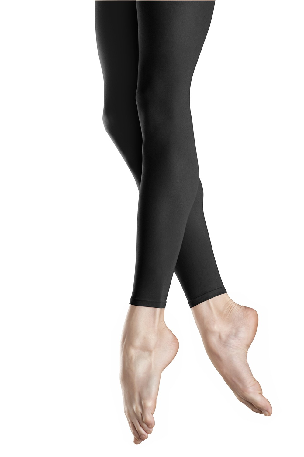 Girls Endura Footless Tight Children's Dance Tights