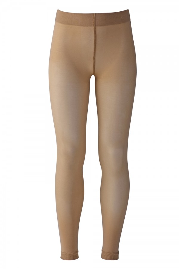 image - Footless Microfibre Bloch Tight Women's Dance Tights