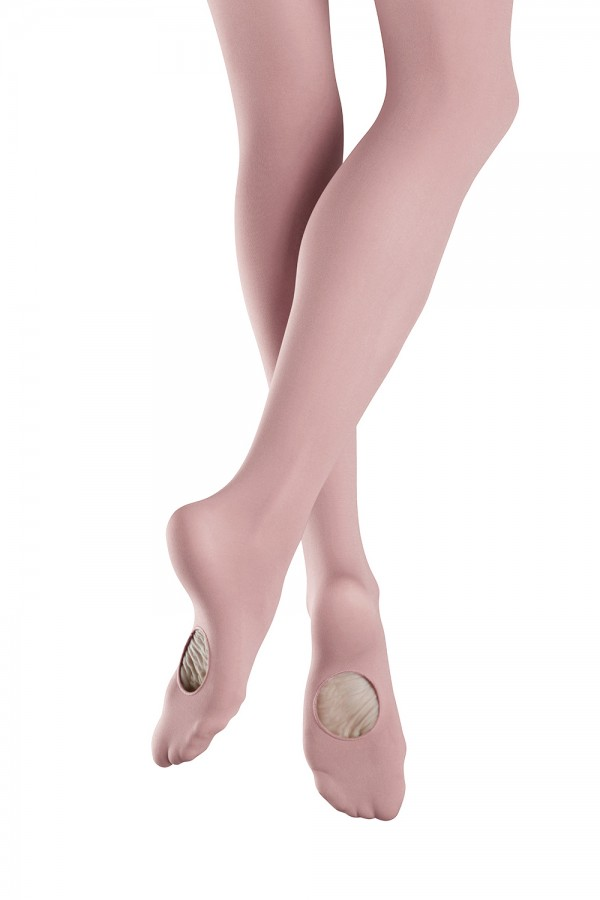 image - Girls Endura ELITE Adaptatoe Tight Children's Dance Tights