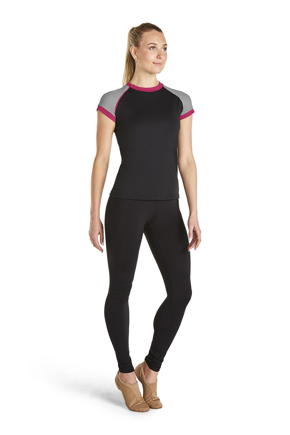 Sleeve Active Top Women's Tops