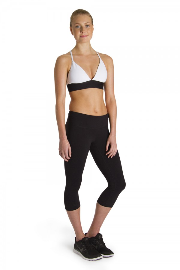 image - Mid Rise 3/4 Legging Suprima Collection