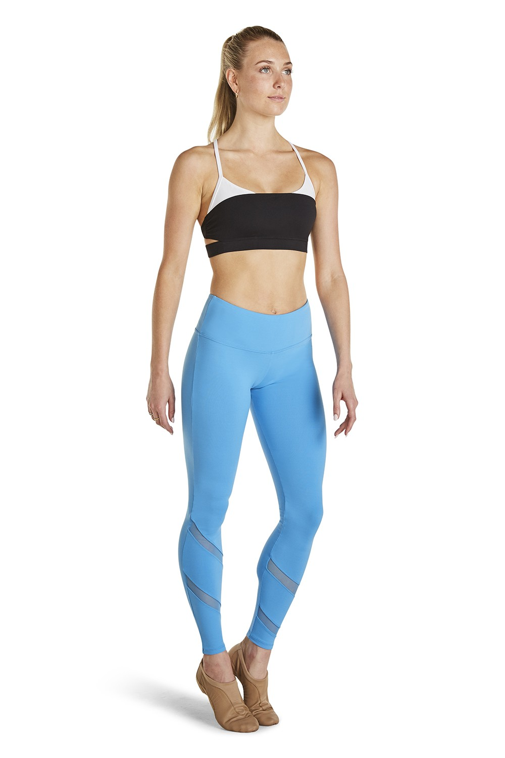 Mesh Pannel Legging Women's Bottoms