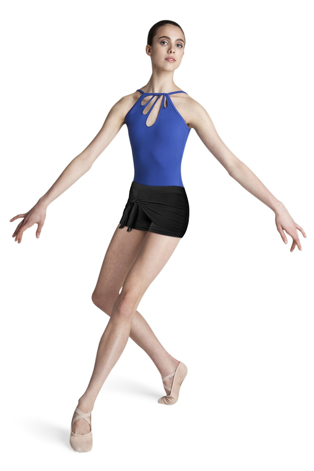 Petal Front Camisole Leotard Women's Dance Tops