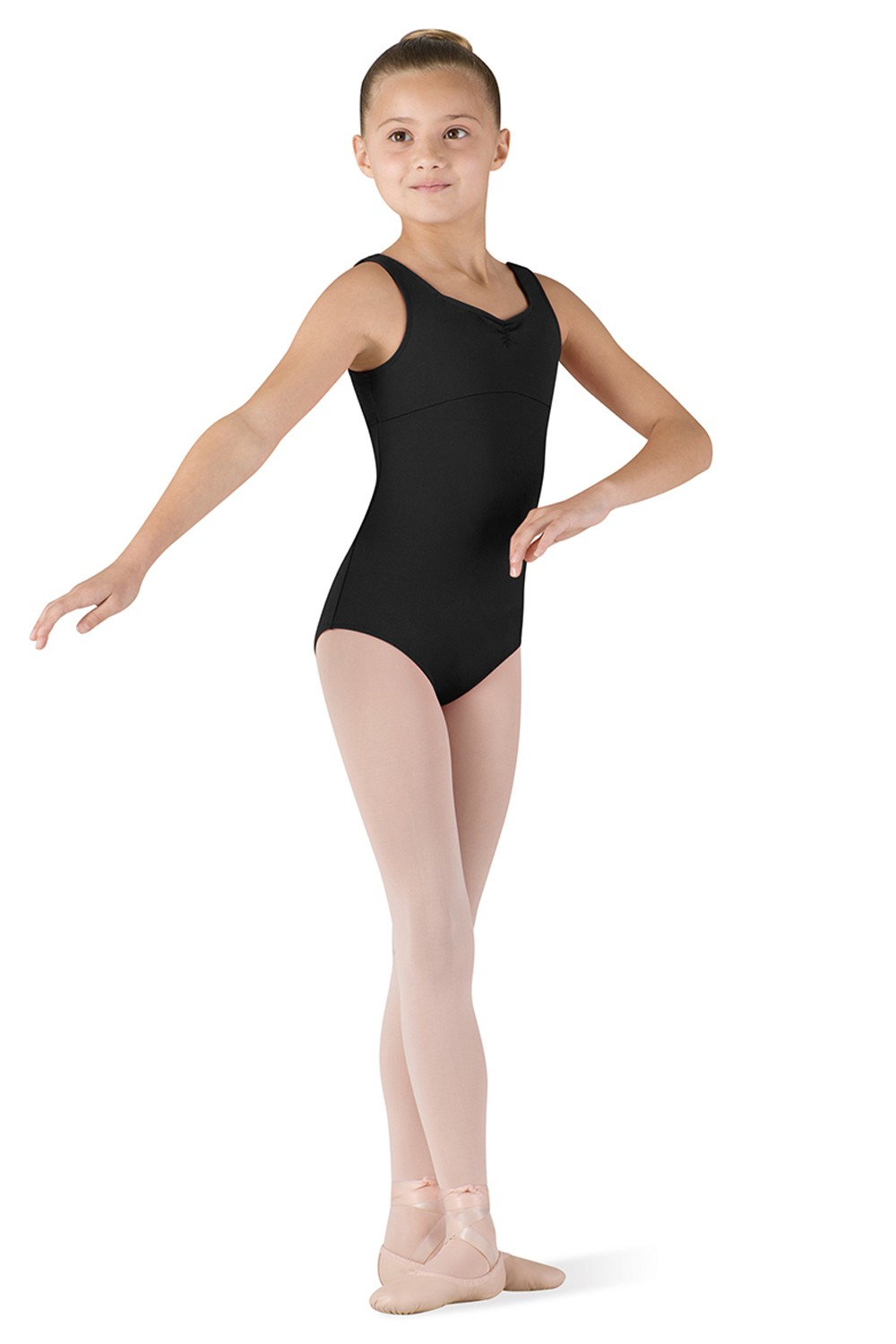 Pinch Front Tank Leo Children's Dance Leotards