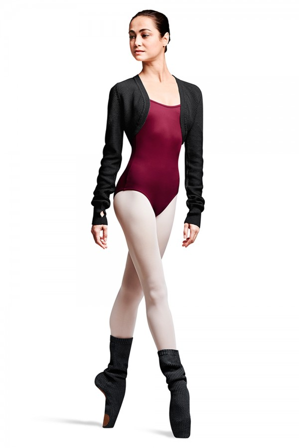 image - Pointe Shoe Sock Women's Dance Warmups