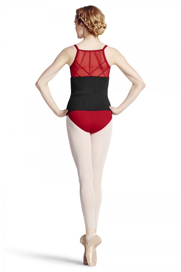 image - Knit Body Warmer Women's Dance Warmups