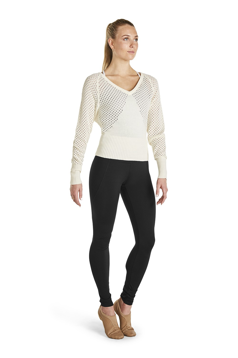 Open Knit Sweater Women's Dance Warmups