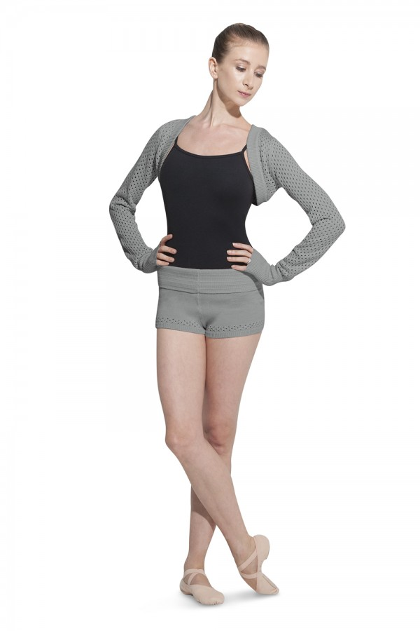 image - Open Knit Shrug Women's Dance Tops