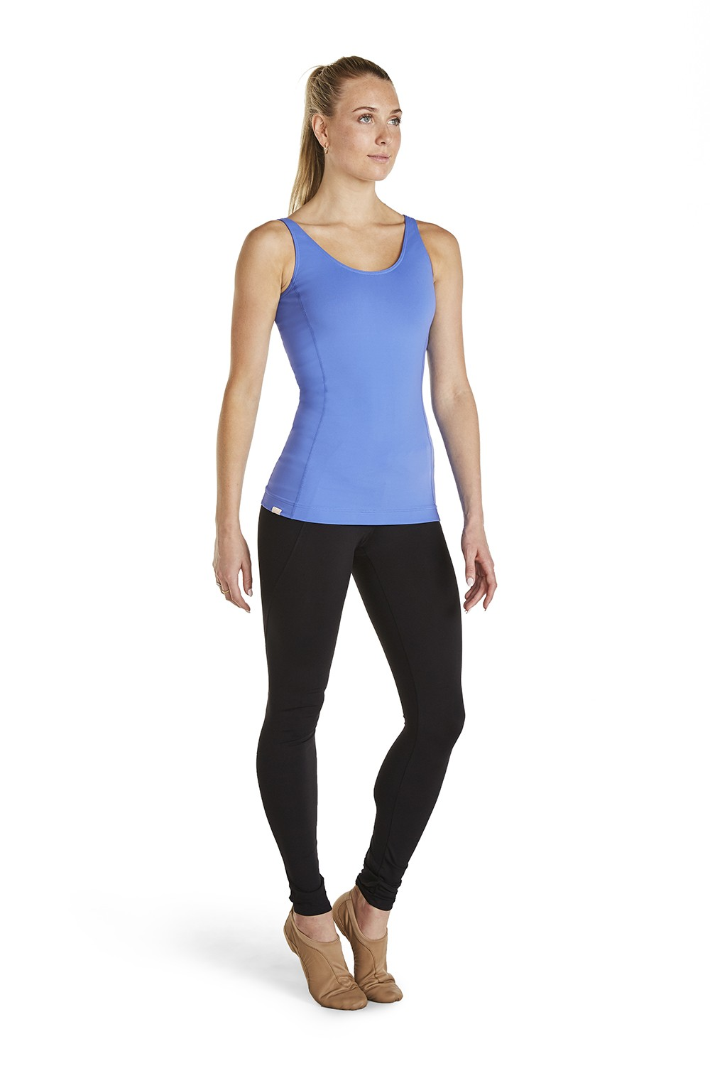 Mesh Splice Cami Women's Tops