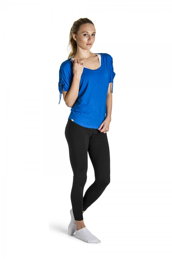 image - Rouched Sleeve Top Women's Tops