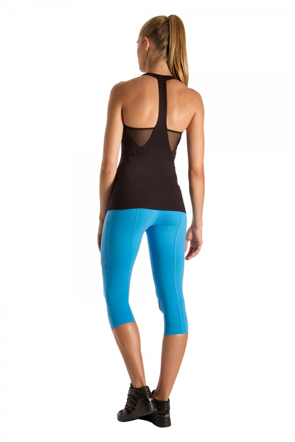 image - Y Back Mesh Top Women's Tops