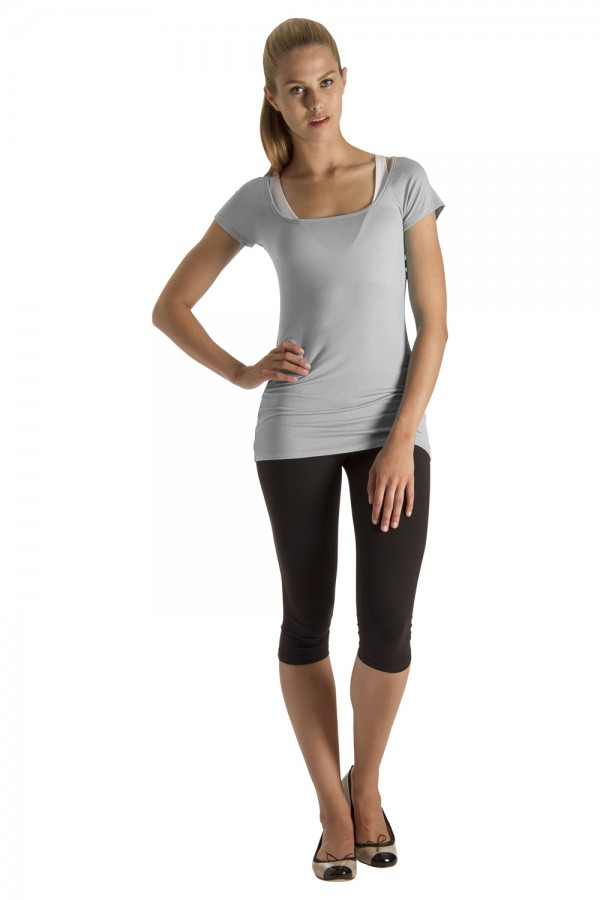 image - Square Neck Tee-Shirt Women's Tops