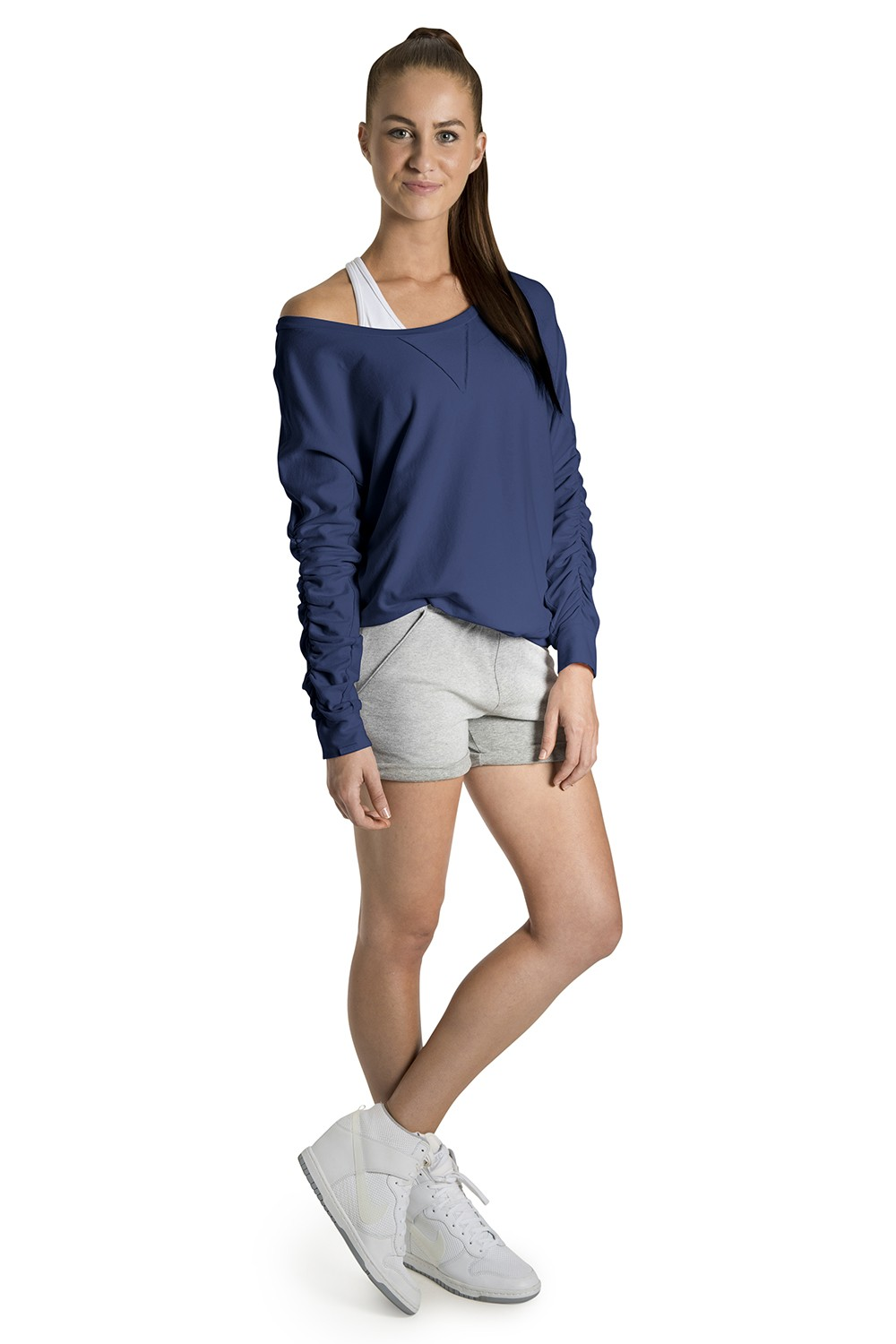 Long Sleeve Vintage Pullover Women's Tops