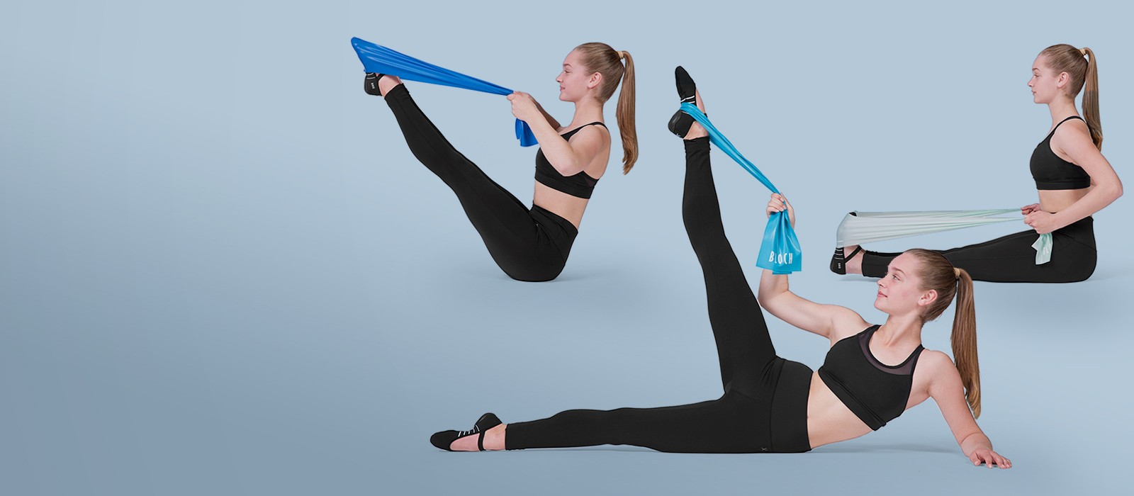 image - Resistance bands for a range of exercises.