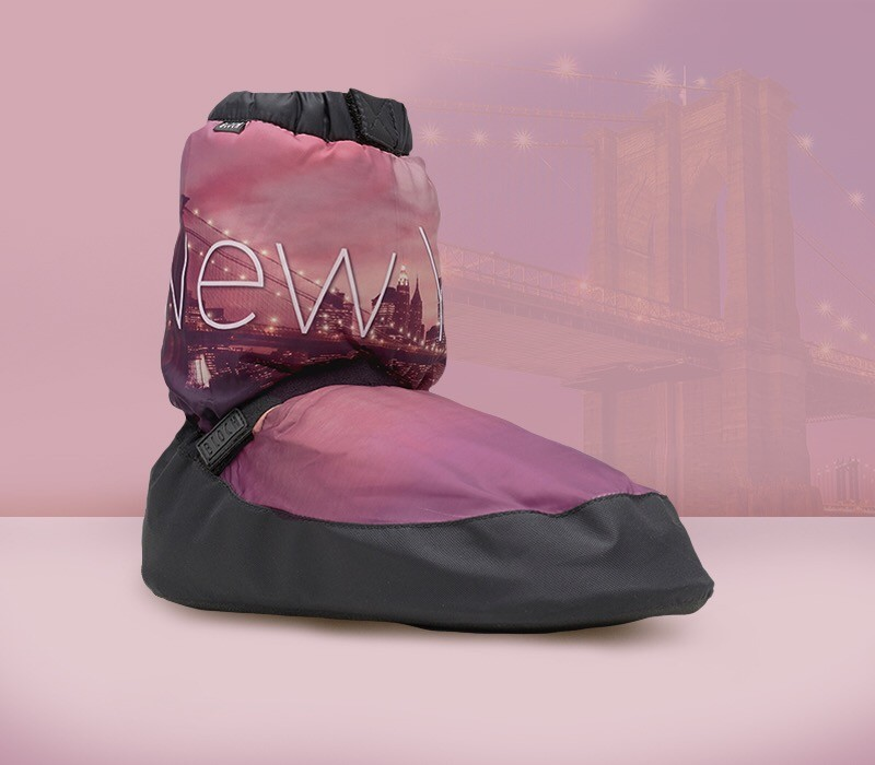 City scape warm up booties