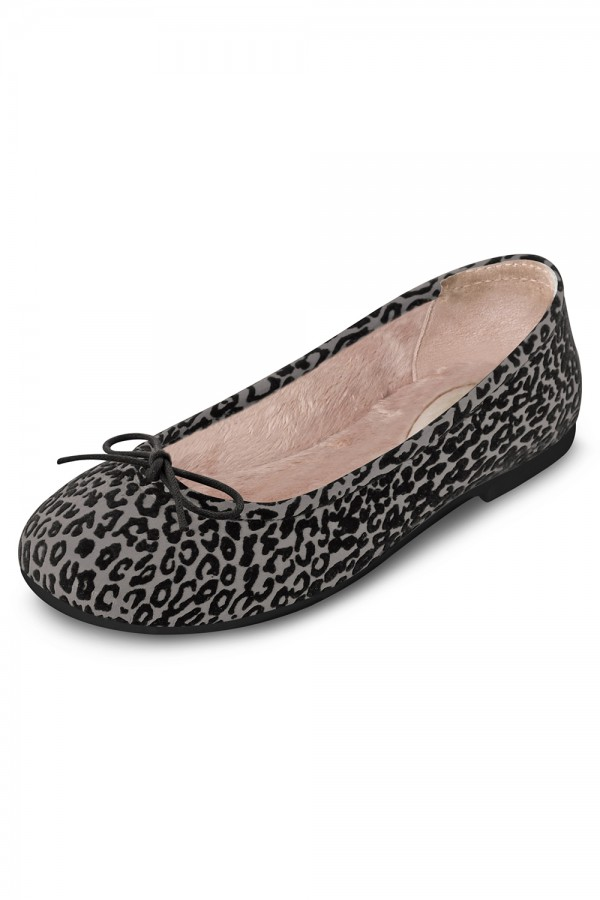 image - Arabella Leopard - Fur Lining Tween Girls Fashion Shoes
