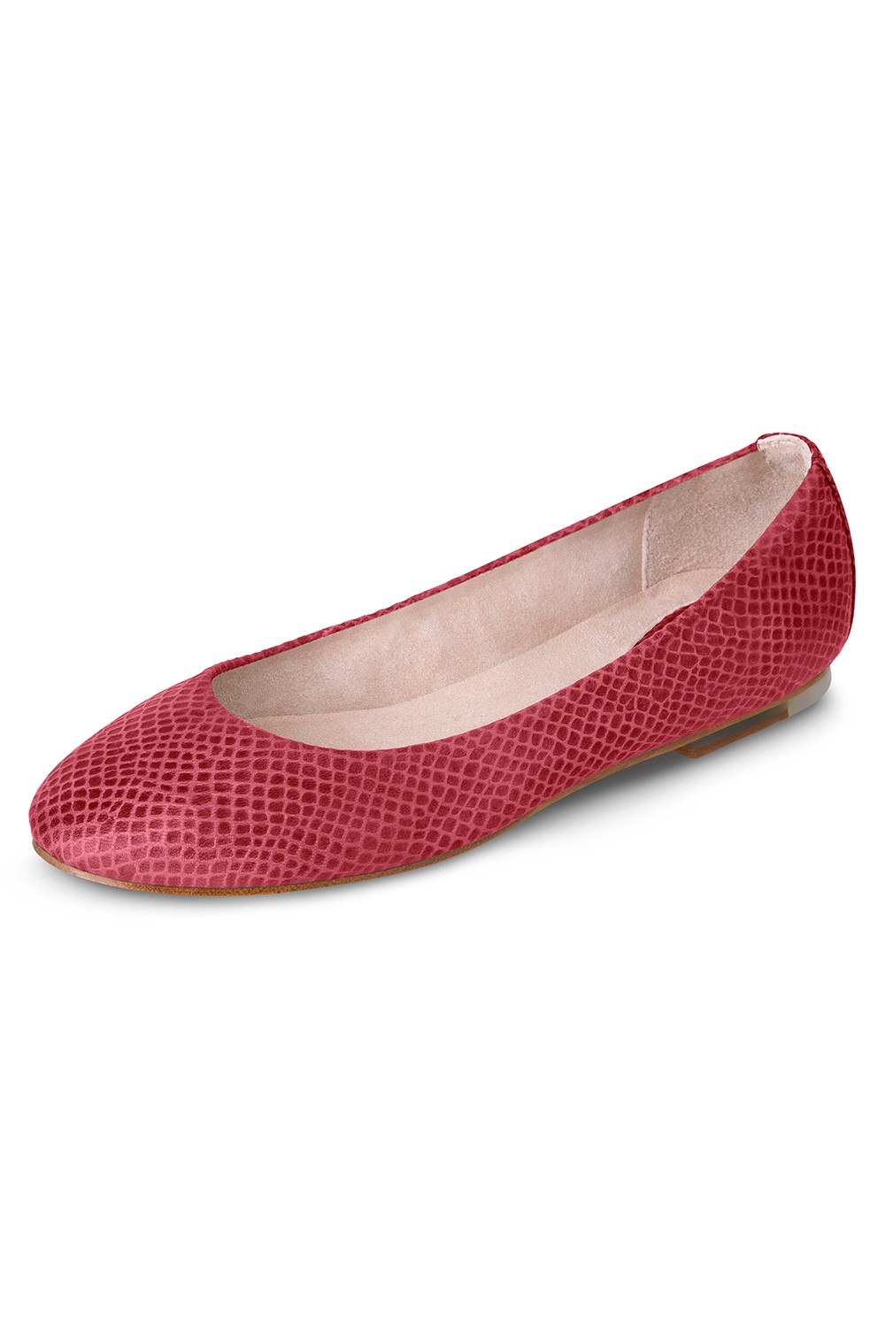 Pauline Snake Skin Ballet Flat Shoes Womens Fashion Shoes