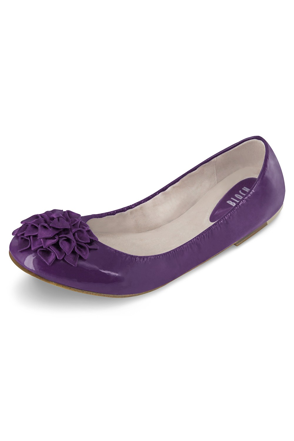 Rosette Ladies Ballet Flat Womens Fashion Shoes