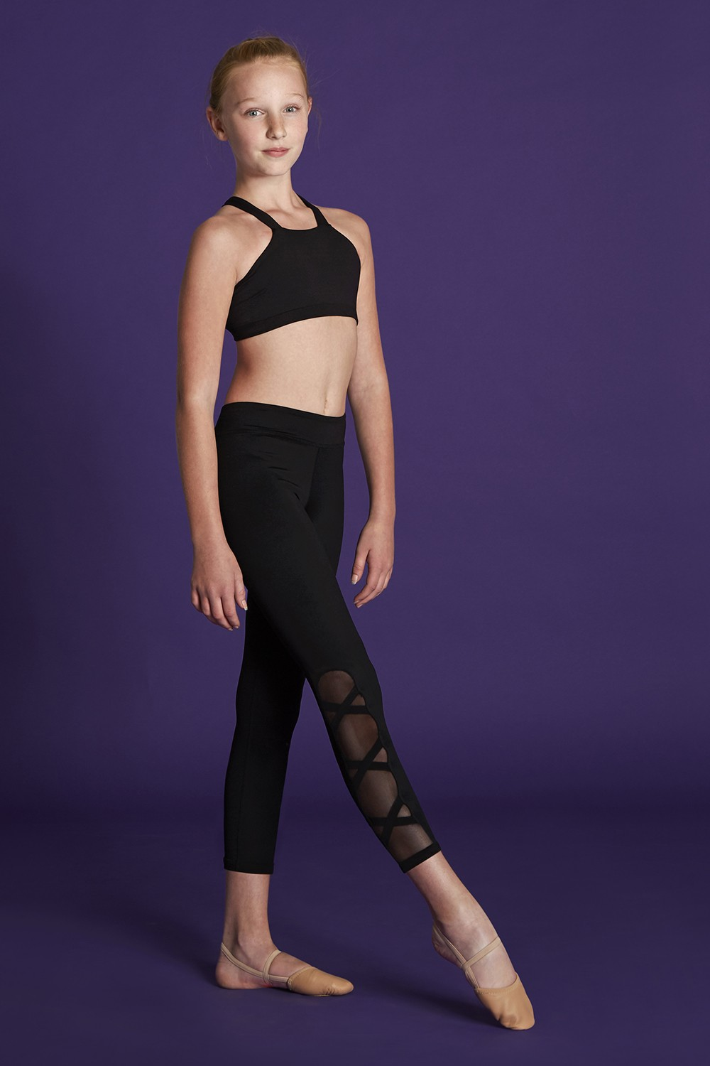 High Neck Crop Top Bloch Moves