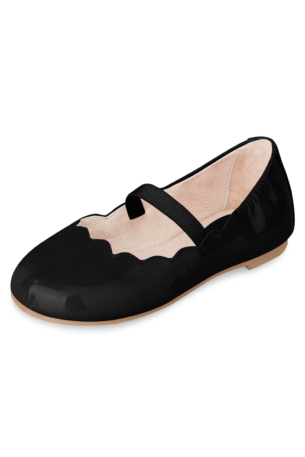 Scalloped Ballerina - Menina Pequena Toddlers Fashion Shoes