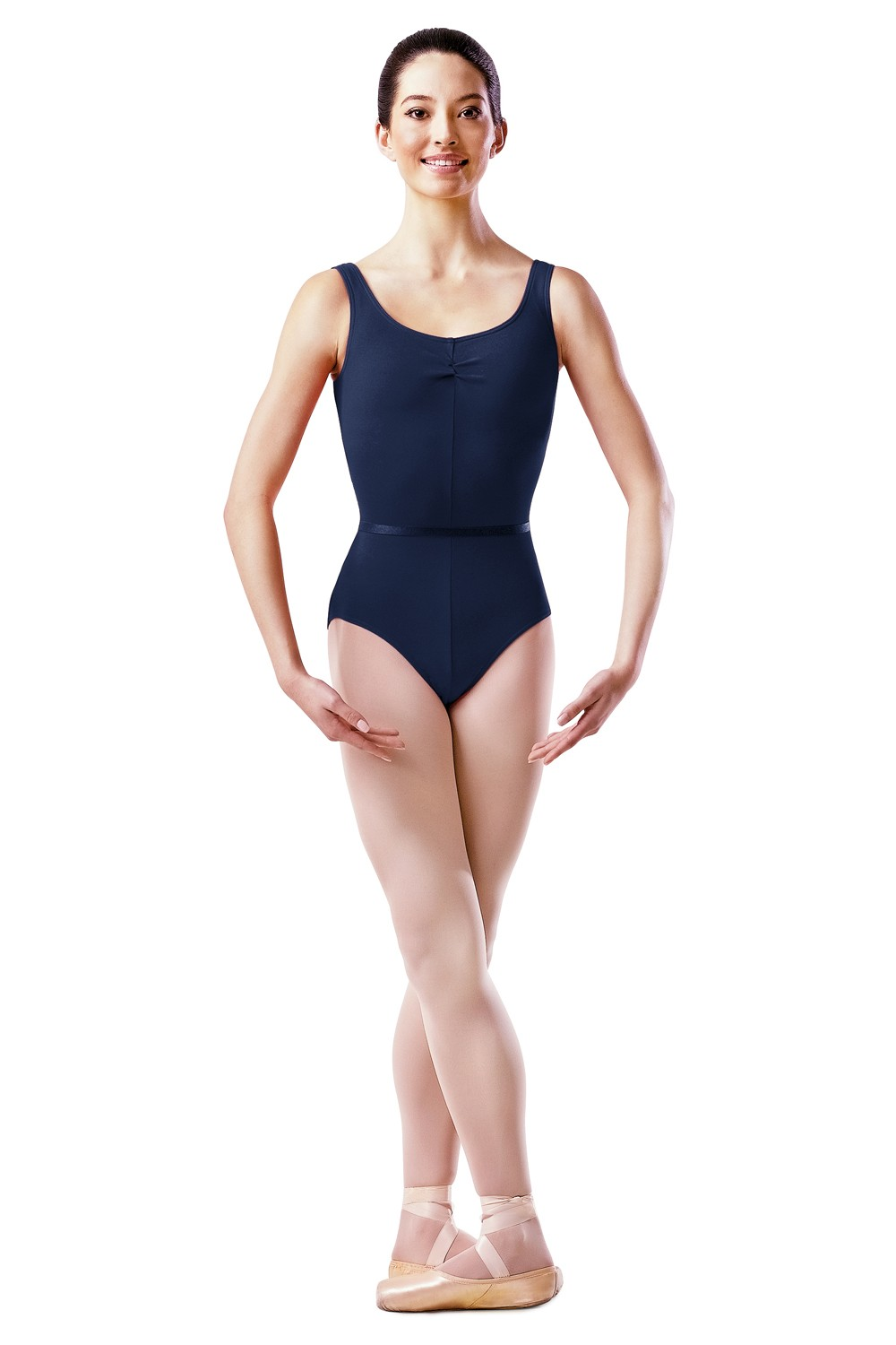 Body Con Fronte Arricciato Women's Dance Uniforms