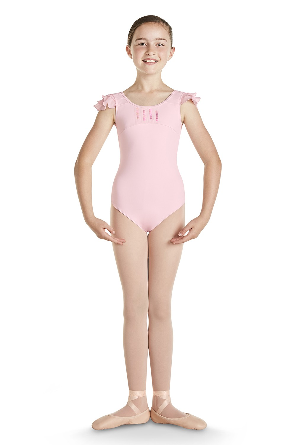 Areta Girls Short Sleeve Leotards