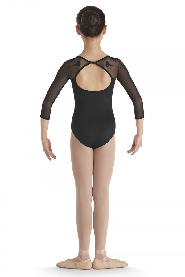 image -  Girls Long Sleeve Leotards
