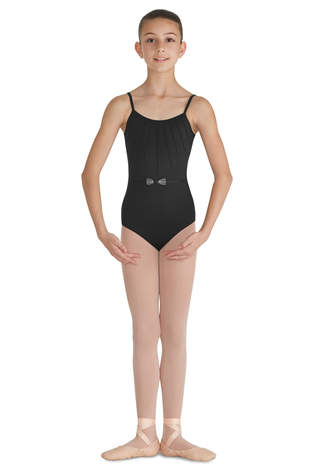 Pintuck Front Camisole Leotard Children's Dance Leotards