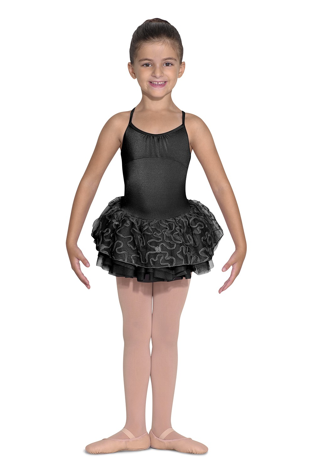 Tutu Dress Cami Leo Children's Dance Leotards
