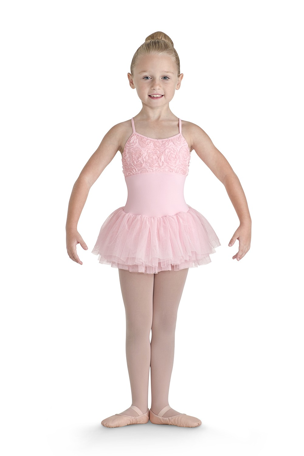 Flower Front X Back Tutu Children's Dance Leotards
