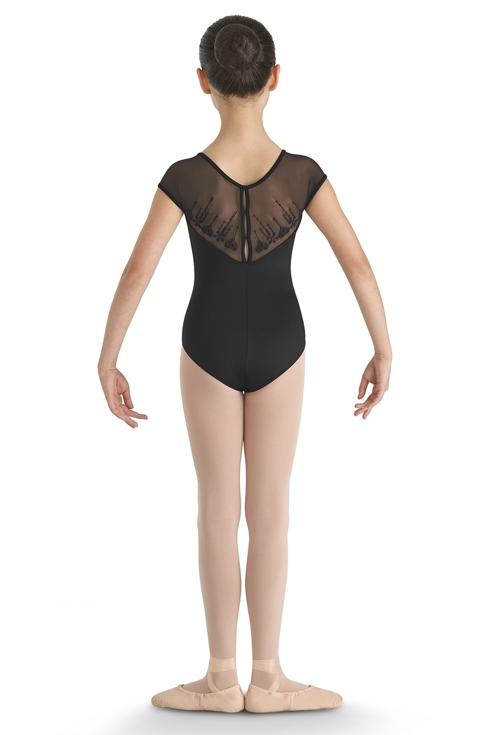 Nasira Girls Short Sleeve Leotards