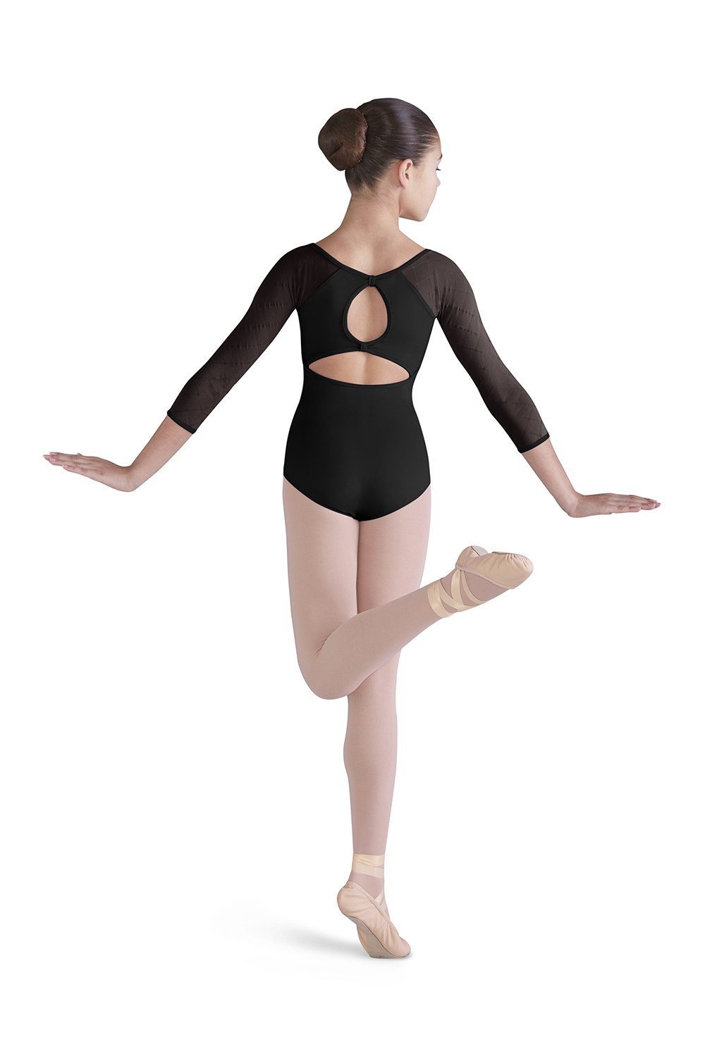 Selene Girls Long Sleeve Leotards
