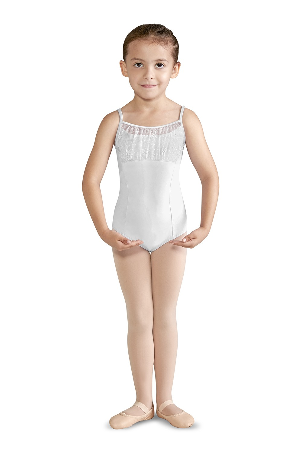 Rosette Girls Camisole Leotards