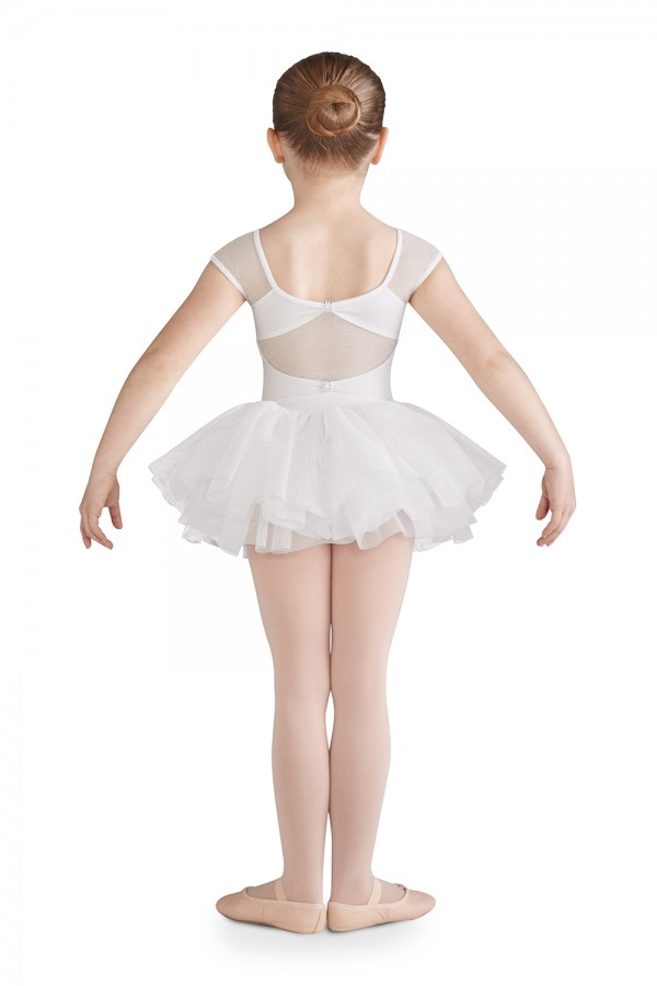 image -  Girls Short Sleeve Leotards