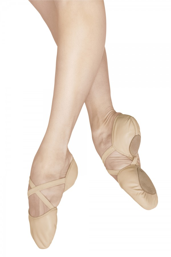 image - Elastosplit X Leather Women's Ballet Shoes