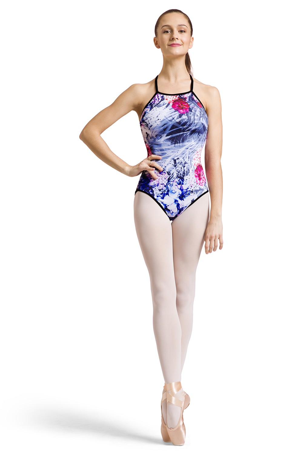 Afton Print Womens Camisole Leotards