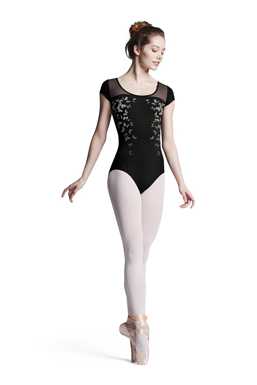Siobhan Womens Short Sleeve Leotards