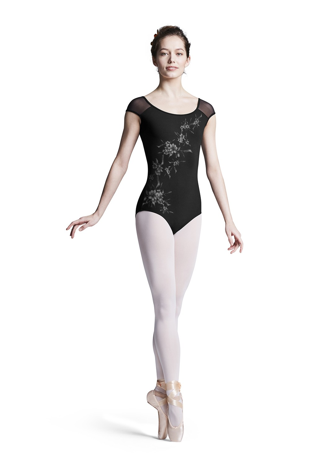 Amelia Womens Short Sleeve Leotards