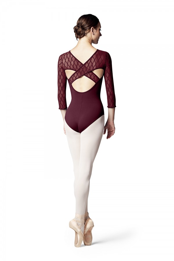 image - Lila Womens Long Sleeve Leotards