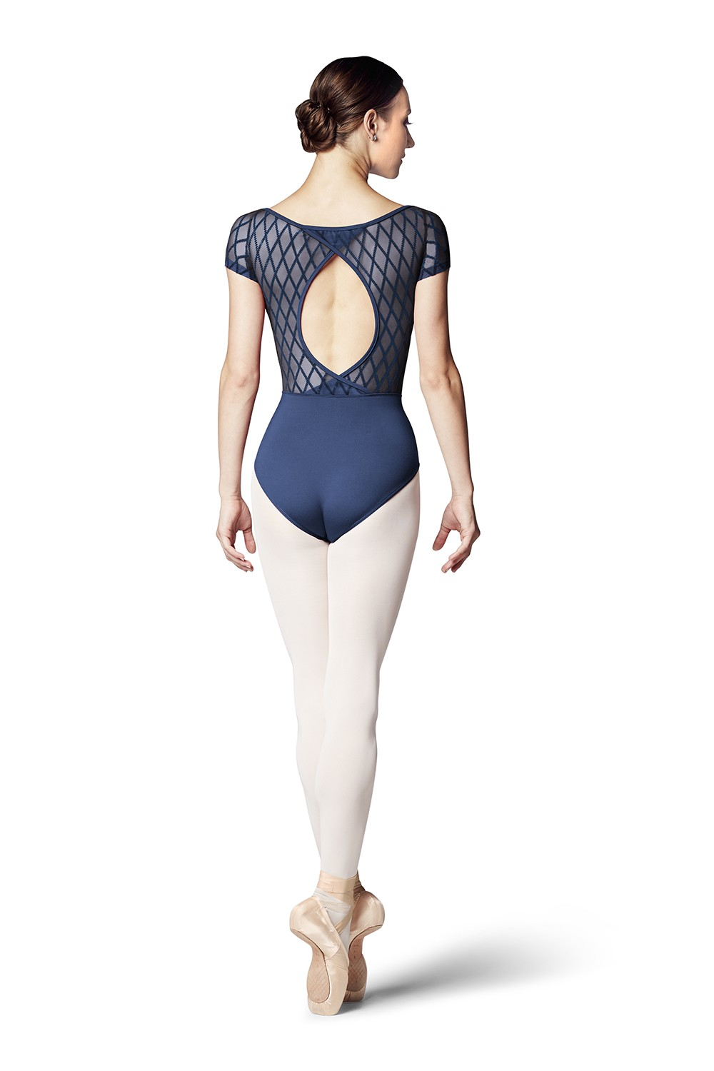 Sanaa Womens Short Sleeve Leotards
