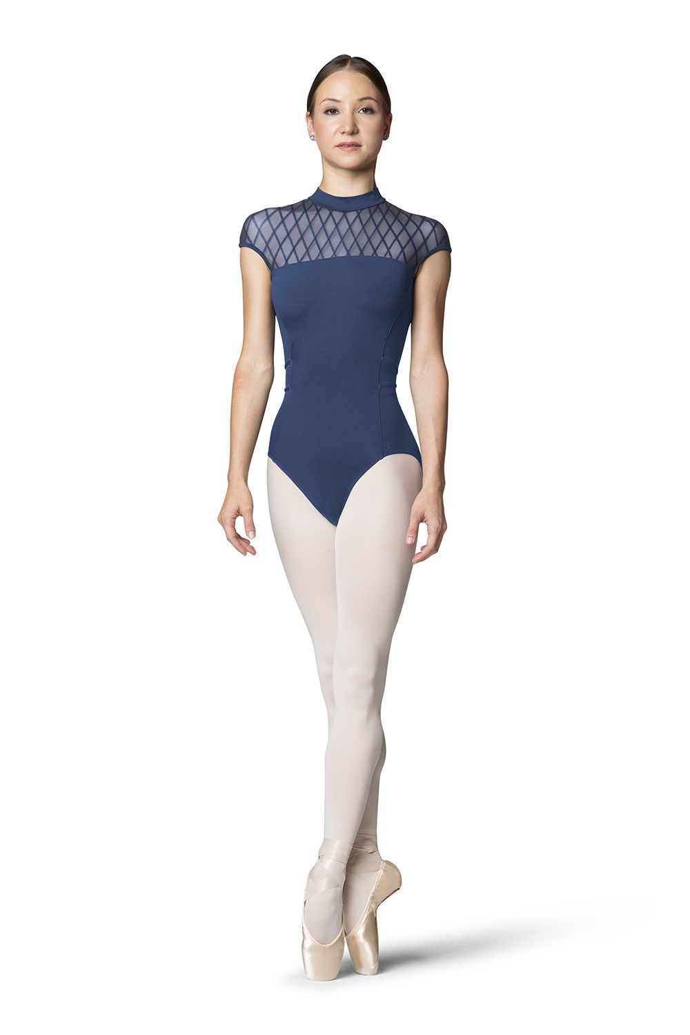 Jelena Womens Short Sleeve Leotards