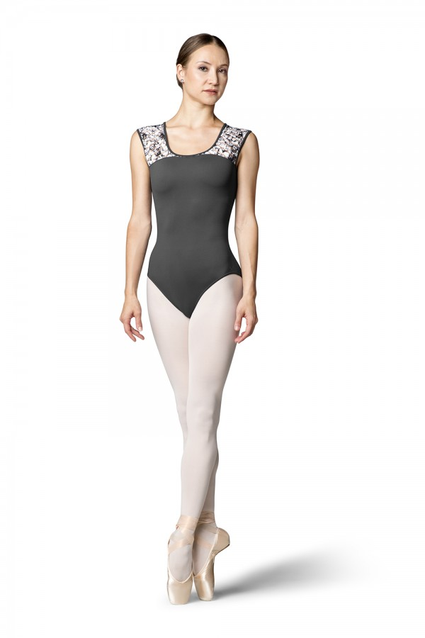 image - Jacey Womens Short Sleeve Leotards