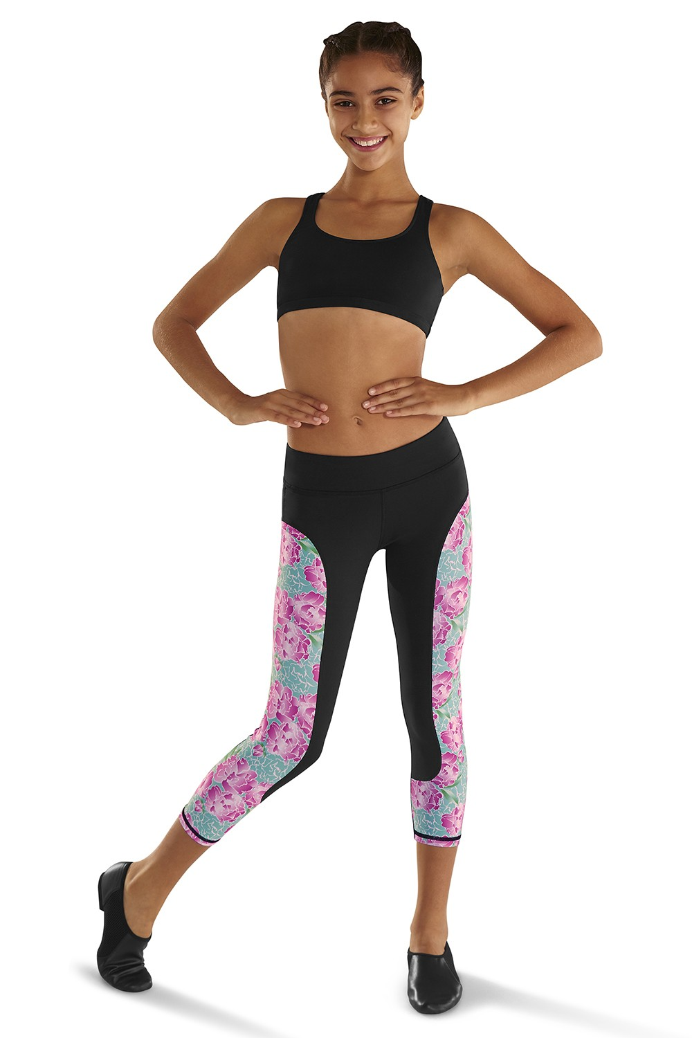 Printed 7/8 Legging Children's Bottoms