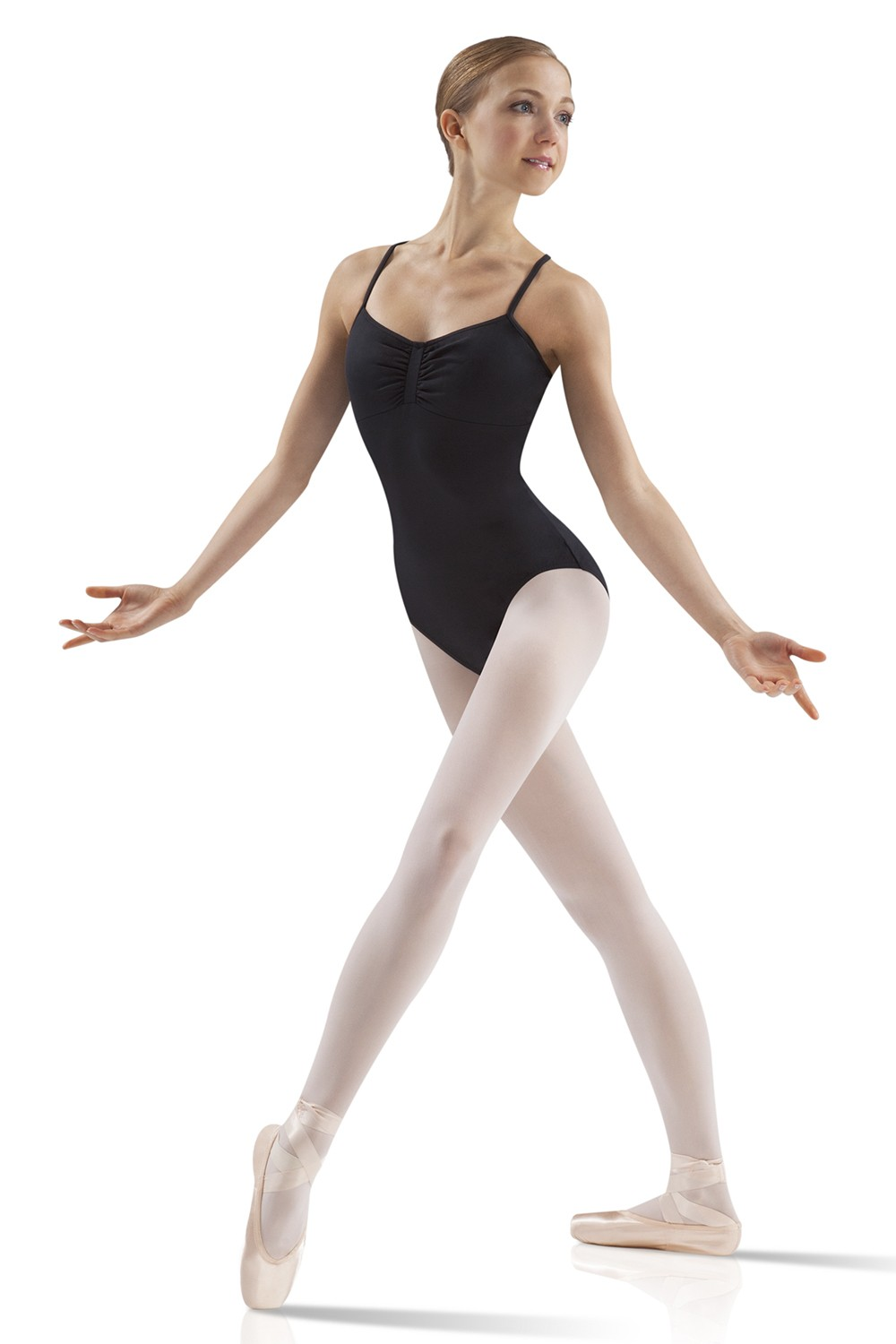 Gathered Front Camisole Leotard Women's Dance Leotards