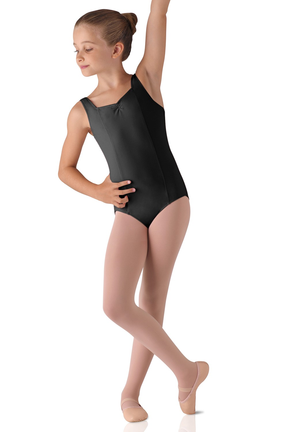Wide Strap Leotard Children's Dance Leotards