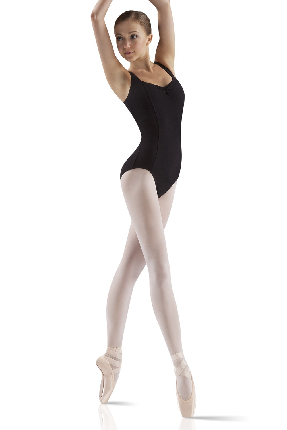 Wide Strap Leotard Women's Dance Leotards