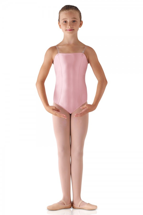 image - Satin Basic Leotard Children's Dance Leotards