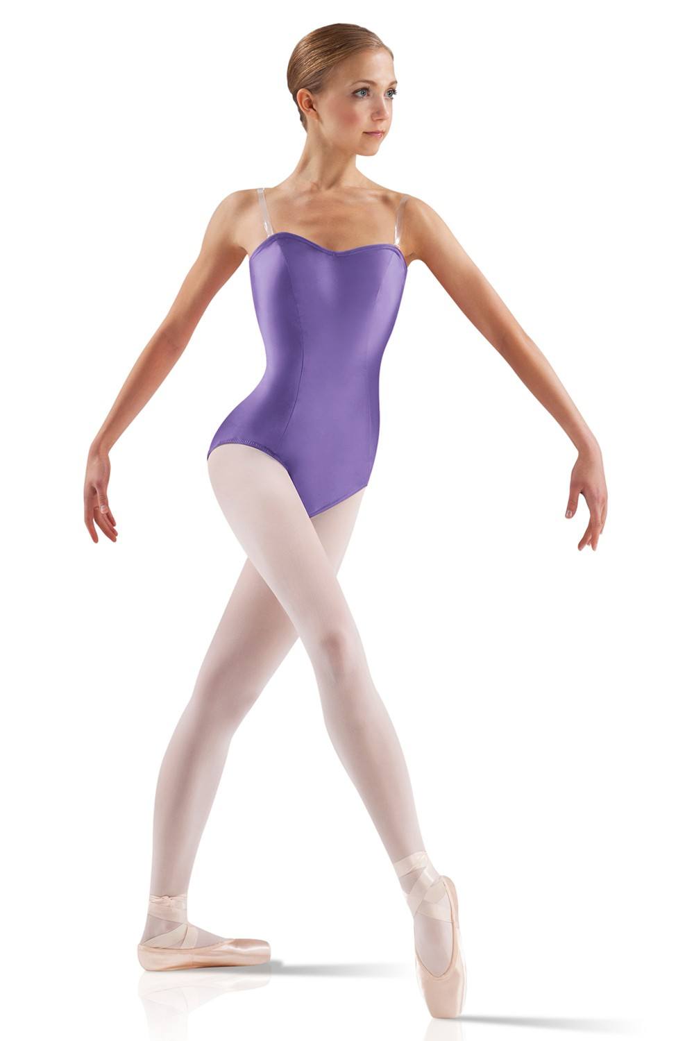 Satin Basic Leotard Women's Dance Leotards
