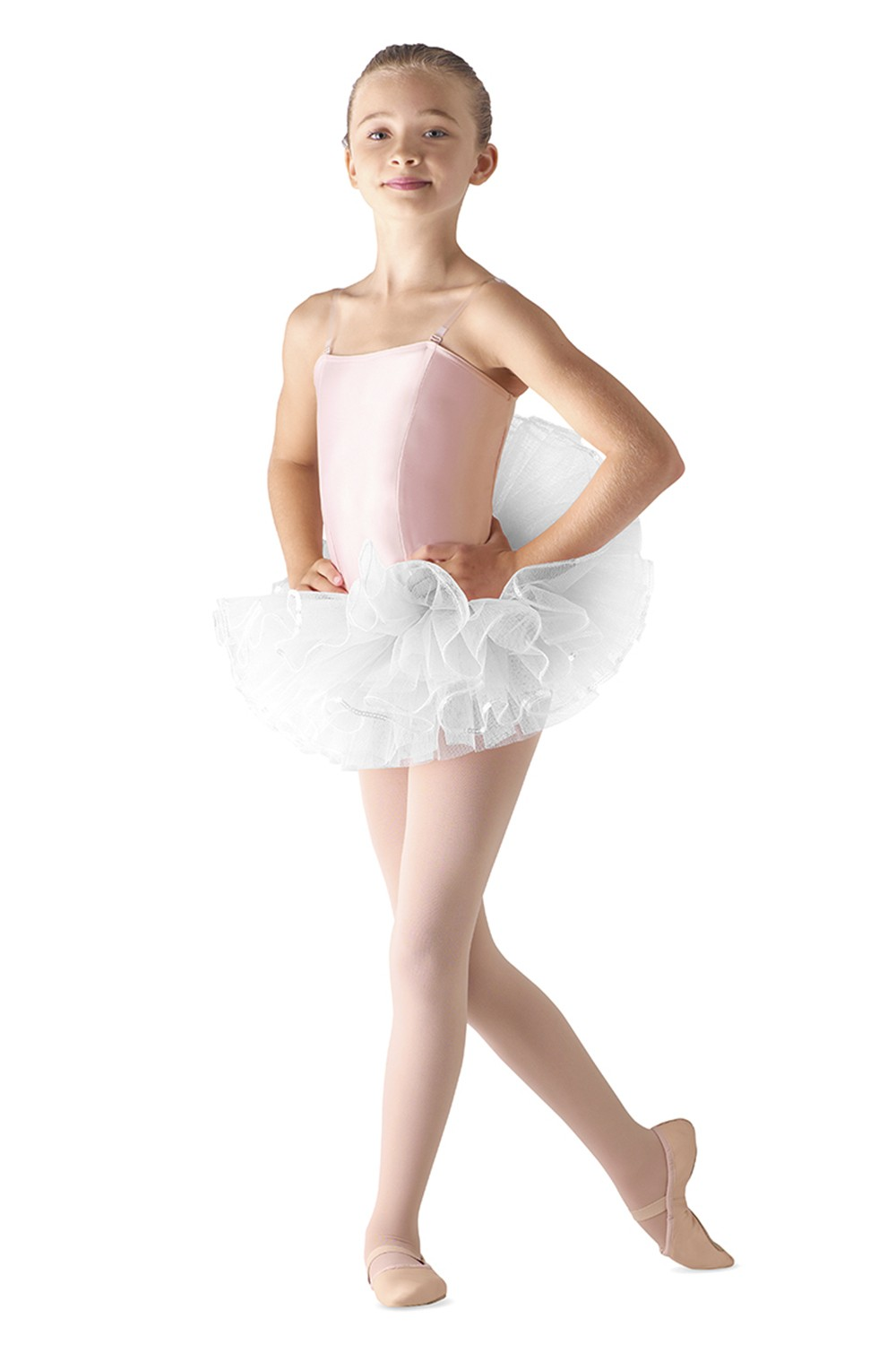 Sequin Trim Tutu Children's Dance Skirts